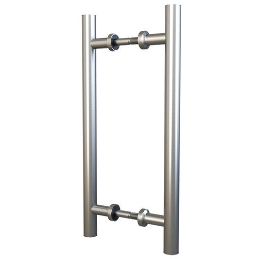 """View a Larger Image of  Stainless Steel 15-3/4"""" Double Sided Pull for Wood or Glass Doors"""