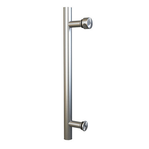 """View a Larger Image of  Stainless Steel 15-3/4"""" Single Sided Pull for Wood or Glass Doors"""