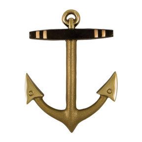 Anchor Door Knocker - Brass