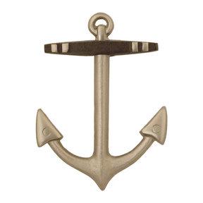 Anchor Door Knocker - Nickel Silver