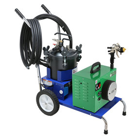 Mobile Cart & 2.5 Gallon Fluid Feed System with 20 ft Hose