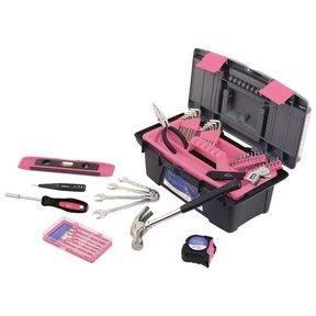 53 pc. Household Tool Kit, Pink, Model DT9773P