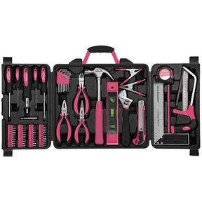 Household Tool Kit, Pink, 71 pieces, Model DT0204P