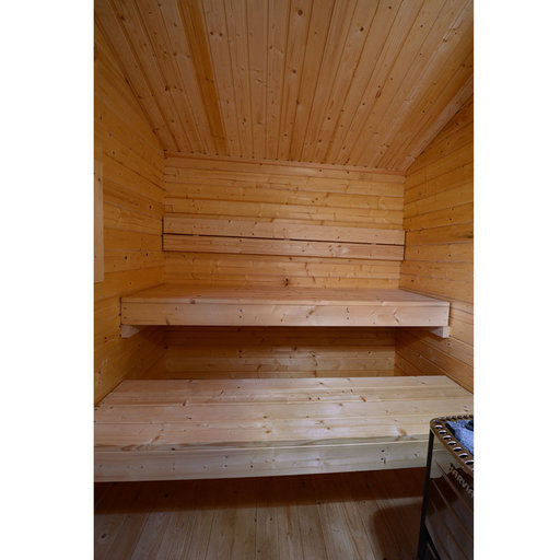 View a Larger Image of Appalachia Wood-Burning Cabin Sauna
