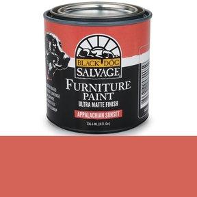 Appalachian Sunset - Red Furniture Paint, 1/2 Pint 236.6ml (8 fl. Oz.)
