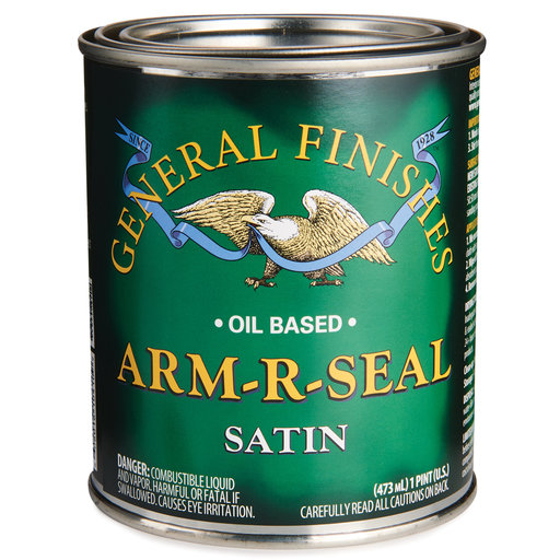 View a Larger Image of Satin Arm-R-Seal Varnish Solvent Based Pint