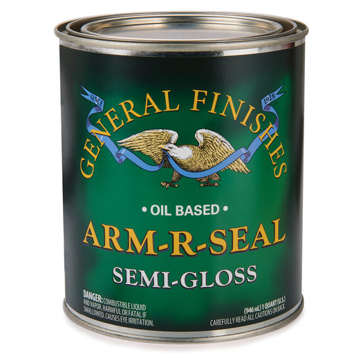 View a Larger Image of Semi-Gloss Arm-R-Seal Varnish Solvent Based Quart