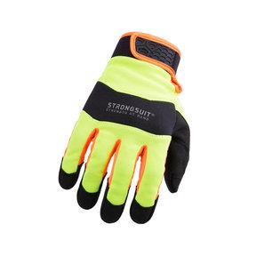 Armor3 HiViz Gloves, XXL