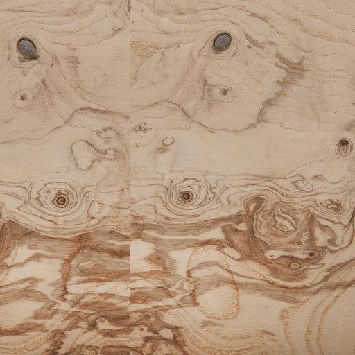 View a Larger Image of Ash Burl, Olive 4'X8' Veneer Sheet, 3M PSA Backed