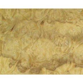 Ashburl, Olive 4'X8' Veneer Sheet, 10MIL Paper Backed