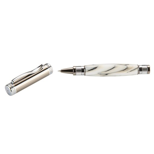 View a Larger Image of Attraction Magnetic Rollerball Pen Kit - Gunmetal & Chrome