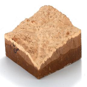 Australian Brown Mallee Burl Turning Blank - 1 kg - 2 kg