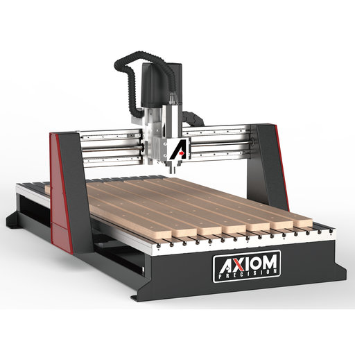 """View a Larger Image of Axiom AutoRoute 24"""" x 48"""" CNC Router"""