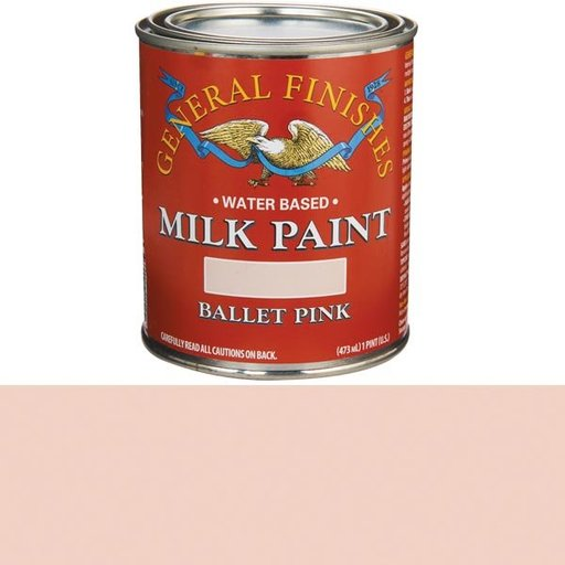 View a Larger Image of Ballet Pink Milk Paint Water Based Pint