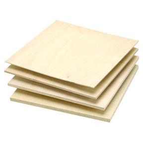 """Baltic Birch Plywood  9mm-3/8"""" x 12"""" x 12"""""""