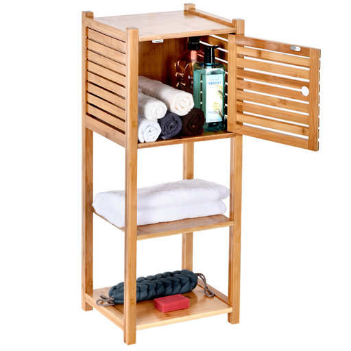 View a Larger Image of Bamboo Cabinet