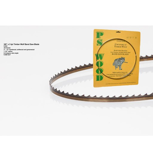 """View a Larger Image of Band Saw Blade 116"""" x 3/8"""" 3 TPI x .032"""""""
