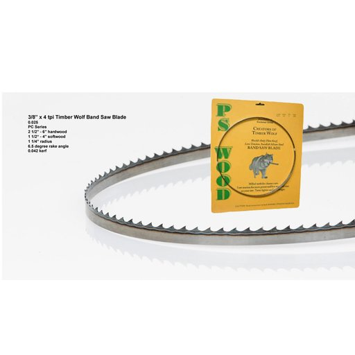 """View a Larger Image of Band Saw Blade 116"""" x 3/8"""" x 4 TPI x .025"""""""