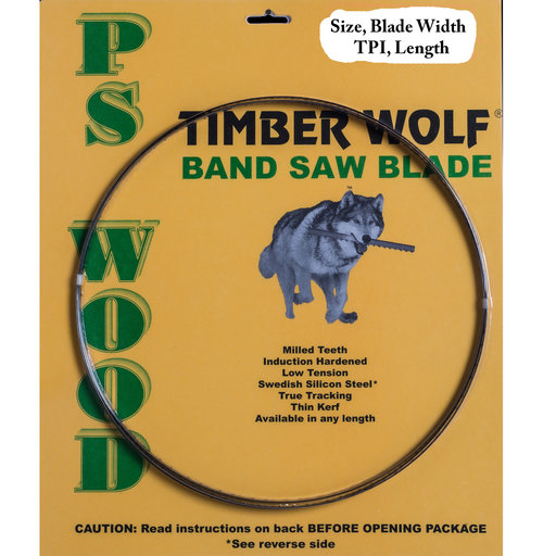 """View a Larger Image of Timber Wolf 70 1/2"""" x 1/4"""" x 6TPI x .025"""""""