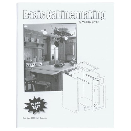View a Larger Image of Basic Cabinetmaking Booklet