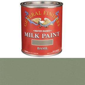 Basil Milk Paint Water Based Quart
