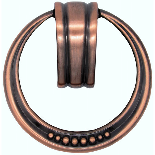 View a Larger Image of Beaded Elegance Ring Pull Satin Copper Oxide