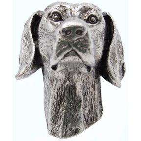 Beagle Knob Pewter Oxide