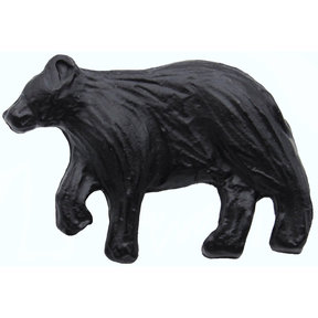 Bear Left Facing Knob Matte Black