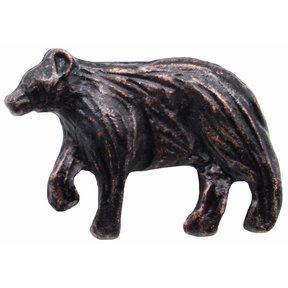 Bear Left Facing Knob Oil Rubbed Bronze