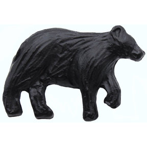 Bear Right Facing Knob Matte Black