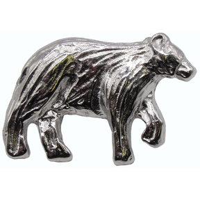 Bear Right Facing Knob Nickel