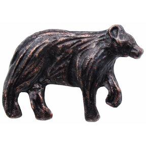 Bear Right Facing Knob Oil Rubbed Bronze