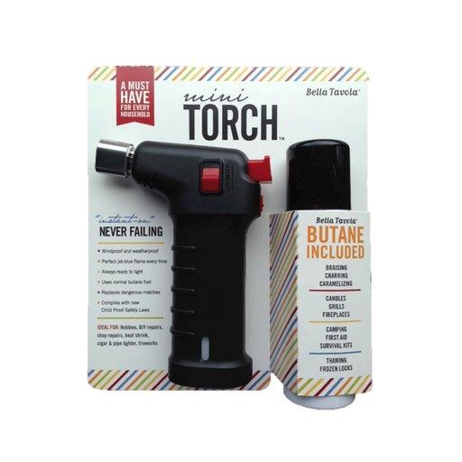 View a Larger Image of Bella Tavola Mini Torch Combo - Black
