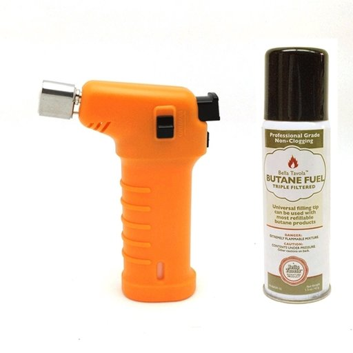 View a Larger Image of Bella Tavola Mini Torch Combo - Orange