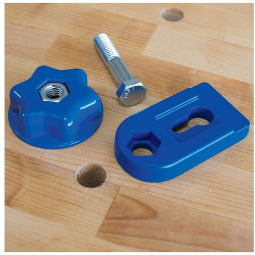 View a Larger Image of Bench Clamp Base For Bench Dog Holes