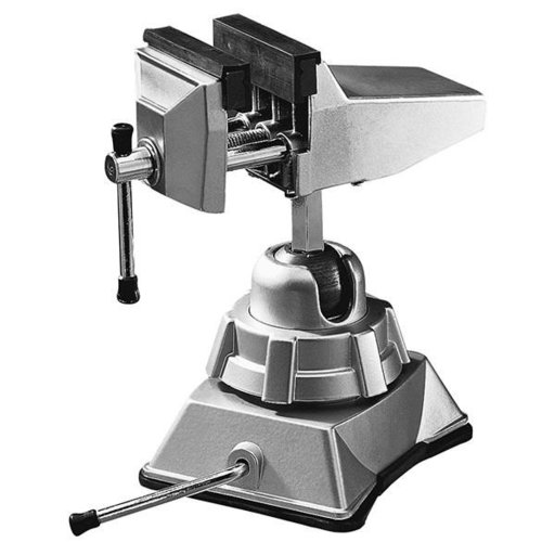 View a Larger Image of Hobby Vise with Vacuum Base