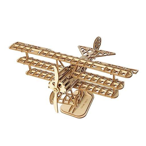 View a Larger Image of Bi-Plane 3D Puzzle Kit