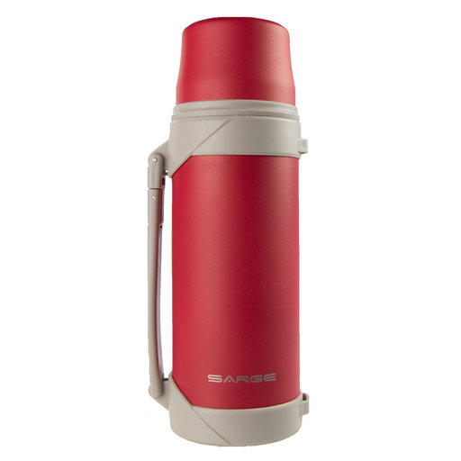 View a Larger Image of Big T - Thermos, 40 oz, Red