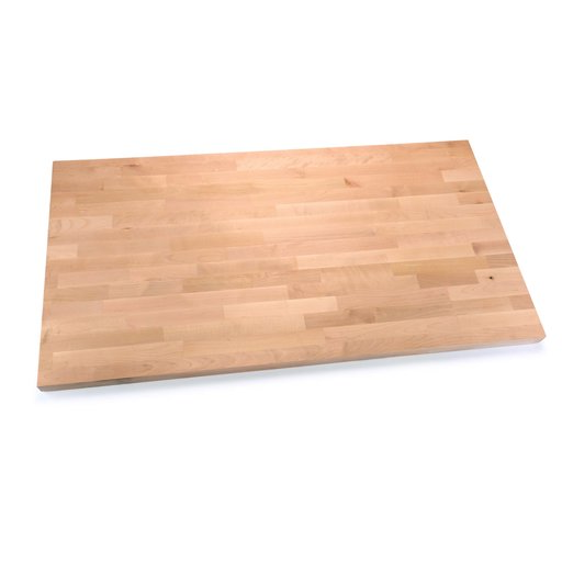 """View a Larger Image of Birch Workbench Top 1-1/2"""" x 27"""" x 60"""""""