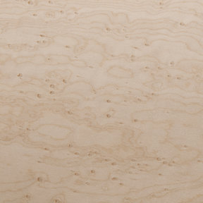 Birdseye Maple Veneer Sheet Medium Figure 4' x 8' 2-Ply Wood on Wood
