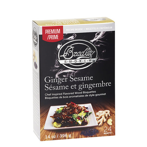 View a Larger Image of Bisquette Premium Ginger Sesame 24 pk