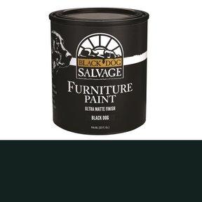 'Black Dog' - Black Furniture Paint, Quart 946ml (32 fl. oz.)