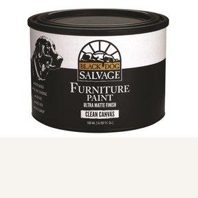 'Clean Canvas' - White Furniture Paint, PintPlus 500ml (16.907 fl. oz.)