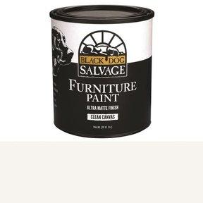 'Clean Canvas' - White Furniture Paint, Quart 946ml (32 fl. oz.)