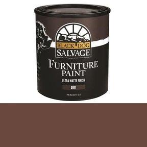 'Dirt' - Brown Furniture Paint, Quart 946ml (32 fl. oz.)