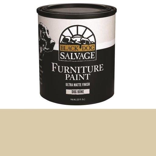 View a Larger Image of 'Dog Bone' - Bone White Furniture Paint, Quart 946ml (32 fl. oz.)