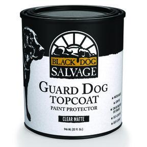 'Guard Dog' Furniture Paint Topcoat, Matte, Quart 946ml (32 fl. oz.)