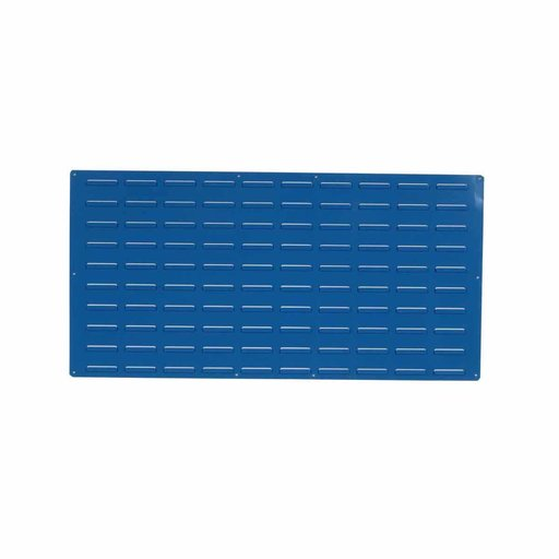 View a Larger Image of 1 - Blue Epoxy Coated Louvered Panel, 18 gauge