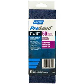 "3"" x 18"" ProSand Sanding Belt 50 Grit"