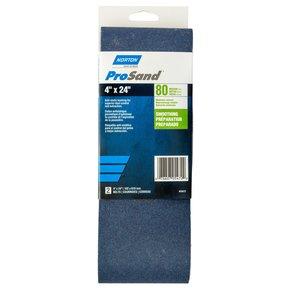 "4"" x 24"" ProSand Sanding Belt 80 Grit"